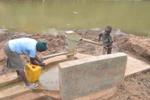 The Water Project: Kaani Community B -  So Easy Even A Kid Can Do It