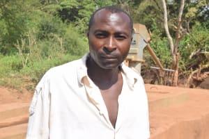 The Water Project: Syakama Community -  Benard Wambua