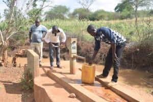 The Water Project: Syakama Community -  Fetching Water