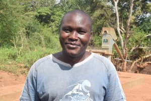 The Water Project: Syakama Community -  Titus Mutungi