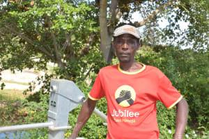 The Water Project: Kivani Community A -  Wambua Mule