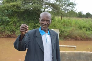 The Water Project: Ngaa Community A -  Cosmas Wambua