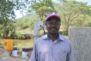 The Water Project: Ilinge Community A -  Sebastian Mumo