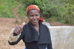 The Water Project: Nzung'u Community B -  Kasyoka Mwendwa