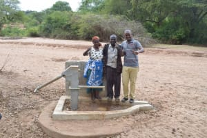 The Water Project: Nzung'u Community B -  Thumbs Up