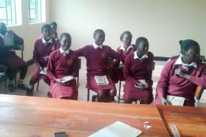 The Water Project: Shikhondi Girls Secondary School -  Training