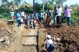 The Water Project: Handidi Community, Chisembe Spring -  Training At The Spring