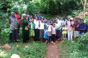 The Water Project: Shirakala Community, Ambani Spring -  Training Participants