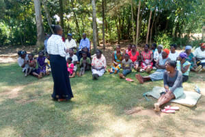 The Water Project: Musiachi Community, Thomas Spring -  Training