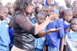 The Water Project: Muunguu Primary School -  Handwashing Training