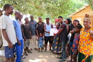 The Water Project: Mabendo Community, Mosque -  Water User Committee