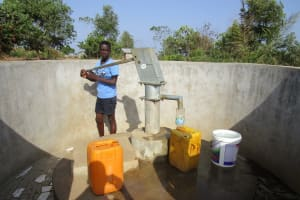The Water Project: Rosint Community, 16 Gilbert Street -  A Year With Water