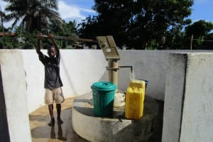 The Water Project: New London, 9 Jalloh Street -  A Year With Water