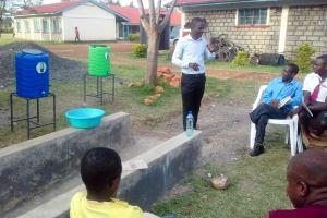 The Water Project: Joyland Special Secondary School -  Handwashing Training