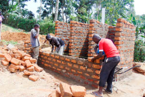 The Water Project: ACK Milimani Girls' Secondary School -  Latrine Construction
