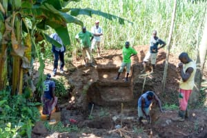 The Water Project: Musiachi Community, Thomas Spring -  Spring Construction