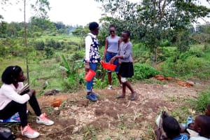 The Water Project: Ematetie Community, Weku Spring -  Handwashing Training