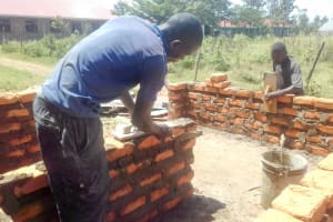 The Water Project: Joyland Special Secondary School -  Latrine Construction