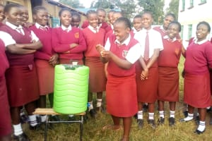 The Water Project: Shikhondi Girls Secondary School -  Handwashing Practicals