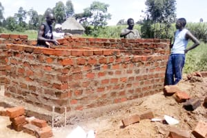 The Water Project: Makuchi Primary School -  Latrine Construction