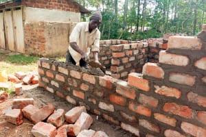 The Water Project: Madegwa Primary School -  Latrine Construction