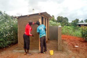 The Water Project: Eshilibo Primary School -  Latrine Construction
