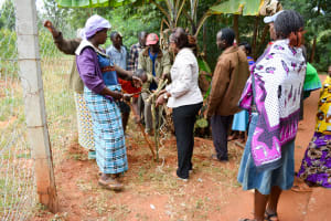 The Water Project: Ngitini Community A -  Handwashing Training
