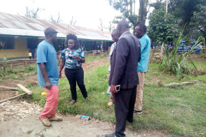 The Water Project: Shiru Primary School -  Discussing Tank Specifications