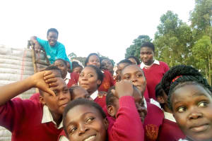 The Water Project: Shikhondi Girls Secondary School -  Learning About The Tank