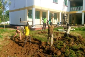 The Water Project: Shikhondi Girls Secondary School -  Clearing The Ground