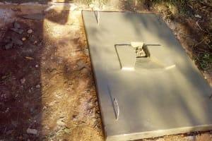The Water Project: Chebwayi B Community, Wambutsi Spring -  Finished Sanitation Platform