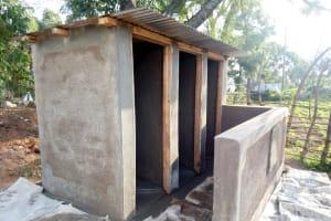 The Water Project: Shiru Primary School -  Latrine Construction