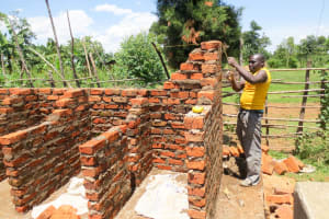 The Water Project: Jidereri Primary School -  Latrine Construction