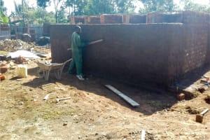 The Water Project: Imusutsu High School -  Latrine Construction
