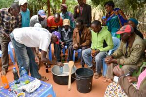 The Water Project: Ngitini Community A -  Soapmaking Training