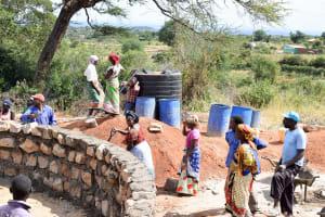 The Water Project: Muunguu Primary School -  Tank Construction