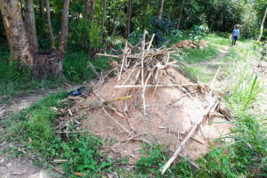 The Water Project: Luyeshe Community, Matolo Spring -  Materials Already Waiting At The Spring