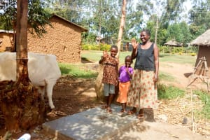 The Water Project: Musiachi Community, Thomas Spring -  Sanitation Platform