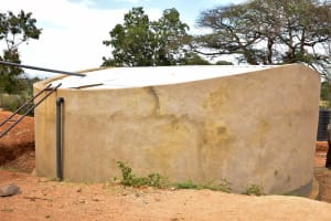 The Water Project: Muunguu Primary School -  Concrete Drying