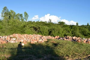The Water Project: Ngitini Community A -  Gathered Materials