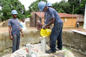 The Water Project: Mabendo Community, Mosque -  Chlorination