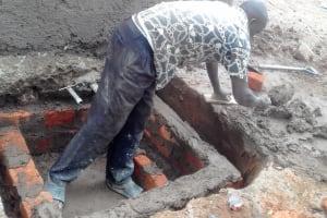 The Water Project: Imusutsu High School -  Tank Construction