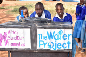 The Water Project: Muunguu Primary School -  Handwashing Stations