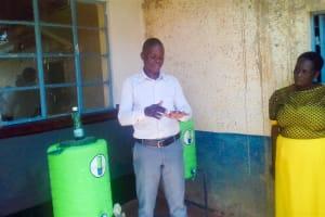 The Water Project: Imusutsu High School -  Training