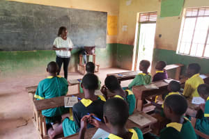 The Water Project: Madegwa Primary School -  Training