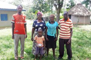 The Water Project: Luyeshe Community, Matolo Spring -  Matolo Family