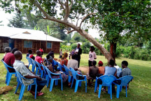 The Water Project: Irumbi Community, Shatsala Spring -  Training