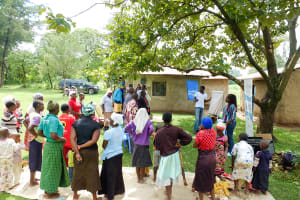 The Water Project: Kitali Community -  Training