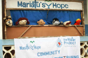 The Water Project: Mabendo Community -  Training Puppet Show