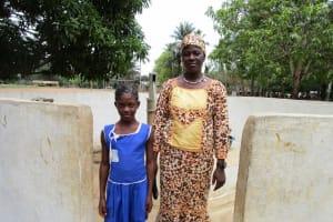The Water Project: Gbaneh Bana SLMB Primary School -  Headteacher Kanu And Lamrana